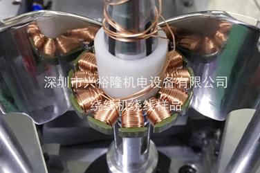 YL-2036无刷电机绕线机绕线样品