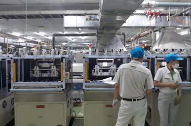 兴裕隆设备在Nidec越南工厂